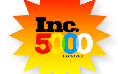 Once Again! One of Inc. Magazine's Fastest Growing Companies